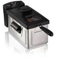 Hamilton Beach® 8-Cup Deep Fryer in Stainless Steel/Black