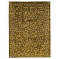 """Bokara Rug Company® Bokara Ooaks 8'11"""" X 11'9"""" Hand-Knotted Area Rug in Gold"""