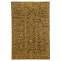 """Bokara Rug Company® Bokara Ooaks 11'10"""" X 18'2"""" Hand-Knotted Area Rug in Gold"""