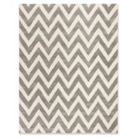 Safavieh Kids® Wide Chevron 8' x 10' Rug in Grey