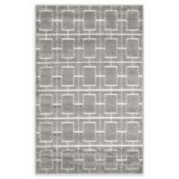 Marilyn Monroe® Deco Glam Grey/white 4' X 6' Powerloomed Area Rug in Gray/white