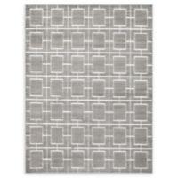 Marilyn Monroe® Deco Glam Grey/white 8' X 10' Powerloomed Area Rug in Gray/white