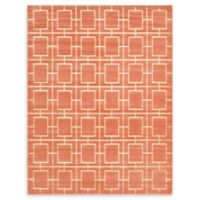 Marilyn Monroe® Deco Glam Coral 8' X 10' Powerloomed Area Rug in Coral