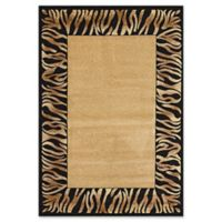 Dynamic Rugs® Yazd Kenya 2' x 3'6 Area Rug in Cream/Black