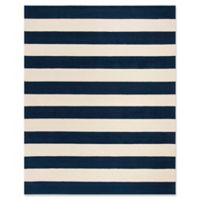 Safavieh Kids® Big Stripe 8' x 10' Rug in Navy