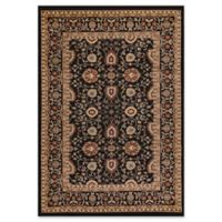 Dynamic Rugs® Yazd Kashan 3'3 x 5'3 Area Rug in Black