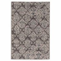 Linon Home Aristocrat Clara 9' x 12' Area Rug in Grey