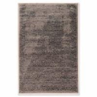 Linon Home Aristocrat Illusion 5' x 7'6 Area Rug in Grey