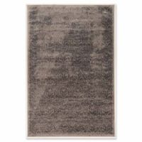 Linon Home Aristocrat Illusion 9' x 12' Area Rug in Grey