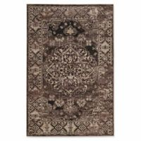 Linon Home Aristocrat Nain 5' x 7'6 Area Rug in Beige