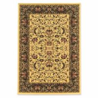 Linon Home Empress Nain 9' x 12' Area Rug in Cream