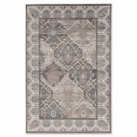 Linon Home Aristocrat Belouch 9' x 12' Area Rug in Grey