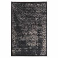 Linon Home Aristocrat Illusion 9' x 12' Area Rug in Navy