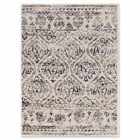 Linon Home Panache Lina 5' x 7' Hand-Tufted Area Rug in Ivory