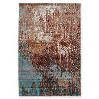 Linon Home Techtonics Forest 5' x 8' Power-Loomed Area Rug in Beige