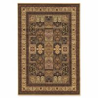 Linon Home Empress Baktiyari 8' x 10' Area Rug in Cream