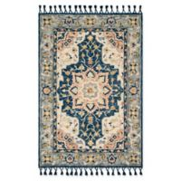 Magnolia Home by Joanna Gaines Kasuri 2'6 x 7'6 Runner in Blue/Multi