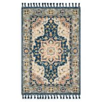 Magnolia Home by Joanna Gaines Kasuri 7'9 x 9'9 Area Rug in Blue/Multi