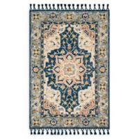 Magnolia Home by Joanna Gaines Kasuri 9'3 x 13' Area Rug in Blue/Multi