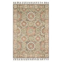 Magnolia Home by Joanna Gaines Kasuri 7'9 x 9'9 Area Rug in Sand/Multi