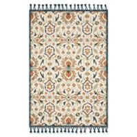 Magnolia Home by Joanna Gaines Kasuri 2'6 x 7'6 Runner in Ivory/Multi