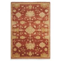 Nourison Grand Estate 5'6 x 8' Area Rug in Red