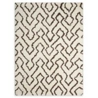 Nourison Galway 5' x 7' Area Rug in Ivory/Chocolate
