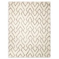 Nourison Galway 7'6 x 9'6 Area Rug in Ivory/Chocolate