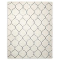 Nourison Galway 7'6 x 9'6 Area Rug in Ivory/Ash