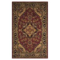 Nourison India House 5' x 8' Area Rug in Rust