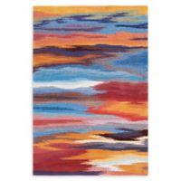 Nourison Contour Sunset Multicolor 5' x 7'6 Area Rug