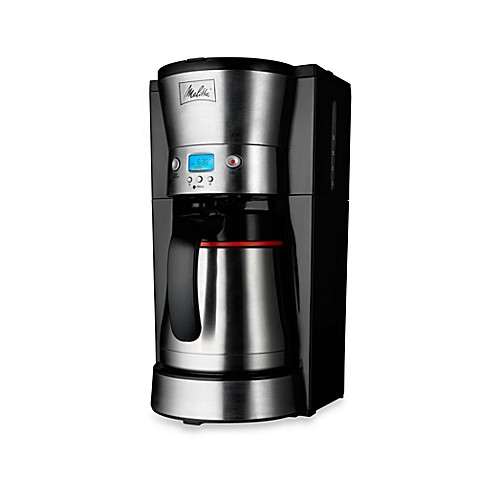 Melitta 174 10 Cup Thermal Programmable Coffee Maker Bed