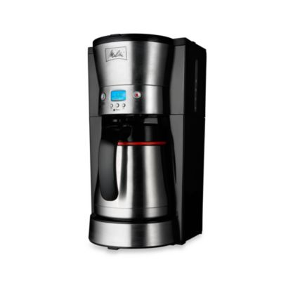 Bed Bath And Beyond Thermal Coffee Maker : Buy Melitta 10-Cup Thermal Programmable Coffee Maker from Bed Bath & Beyond