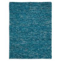 Nourison Fantasia 5'6 x 7'5 Handcrafted Shag Area Rug in Turquoise