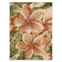 Nourison Impressionist 5'6 x 7'6 Handcrafted Area Rug in Spring