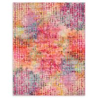 Unique Loom Bondi Spectrum Cotton Candy 8' X 10' Powerloomed Area Rug in Cotton Candy