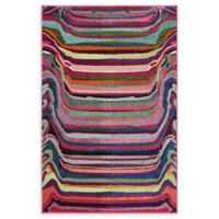 Unique Loom Destin Spectrum 4' X 6' Powerloomed Area Rug