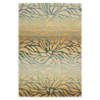 Nourison Contour 3'6 x 5'6 Handcrafted Area Rug in Breeze