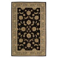 Nourison India House 5' x 8' Hand-Tufted Area Rug in Black