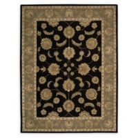 Nourison India House 8' x 10'6 Hand-Tufted Area Rug in Black
