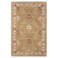 Nourison India House 3'6 x 5'6 Hand-Tufted Area Rug in Sage