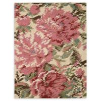 Nourison Impressionist 5'6 x 7'6 Handwoven Area Rug in Pastel