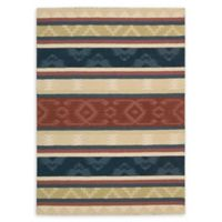 Nourison India House Tribal 2'6 x 4' Hand-Tufted Multicolor Accent Rug