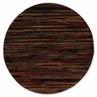 Nourison Paramount Contemporary 5'3 x 5'3 Round Area Rug in Multicolor