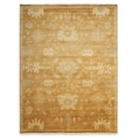 Nourison Grand Estate 5'6 x 8' Hand-Knotted Area Rug in Tobacco