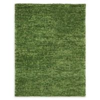Nourison Fantasia 5'6 x 7'5 Handcrafted Shag Area Rug in Green