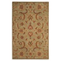 Nourison India House 3'6 x 5'6 Hand-Tufted Area Rug in Light Green