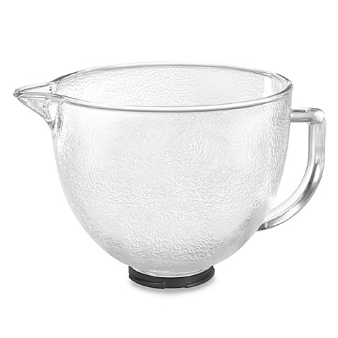 Kitchenaid 174 Hammered Glass Bowl For 5 Quart Artisan And