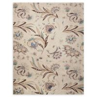 Nourison Gatsby 5' x 7'6 Handcrafted Area Rug in Ivory