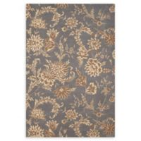 Nourison Gatsby 3'9 x 5'9 Handcrafted Area Rug in Slate